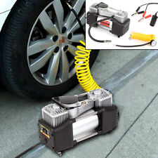 Heavy Duty 12V Electric Car Tyre Inflator 100Psi Air Compressor Pump