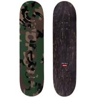 Supreme Camo Logo Skate Deck Green FW20 Skateboard Rare Limited FTP Not Bape