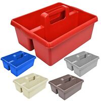 Kitchen Tidy Organiser Cleaning Caddy Tote Tray Large Strong Heavy Duty Home