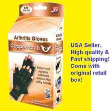 New S/M Therapeutic Compression Copper Hands Arthritis Gloves As Seen on Tv