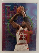 Michael Jordan MJ 1995-96 NBA Hoops Hot List Insert #1 Bulls
