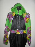 vintage 80s K-WAY Nylon Regenjacke k.way oldschool blouson kway glanz Jacke L