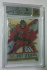 Sidney Crosby BUYBACK Auto 1/3 2008-09 UD ICE Pride of Canada Clear Cut Acetate