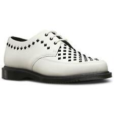 New Dr Martens Willis Leather Studs Unisex Shoes UK Size 7 White EU 40 Rock