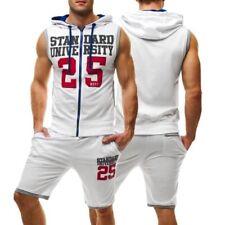 Abbiglimento sportivo da uomo bianchi misto cotone , Taglia XL
