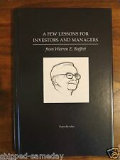 A Few Lessons for Investors and Managers From Warren Buffett, Peter Bevelin