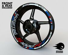 Wheel Stickers for BMW S1000RR Rim Tape Motorcycle Decals Graphics 17""