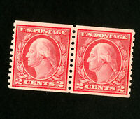 US Stamps # 455 XF OG NH Pair