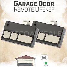2 For Liftmaster 81LM 83LM Garage Gate Door Opener Visor Remote Green Learn