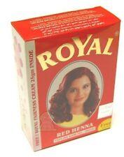 Royal Henna Herbal Base Powder Dye 60g (6x 10g Sachets) Mehndi Mehendi Mendhi Burgundy