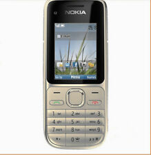 Nokia C2-01 Gold 3G Network Cell Phone Unlocked free shipping