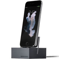 NATIVE UNION DOCK+ for iPhone iPad iPod || Slate Grey || Weighted Charging Dock