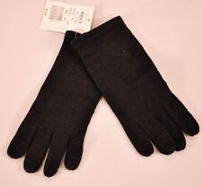 women's Touch & Go gloves black knit one size smart phone finger tip MSRP $30