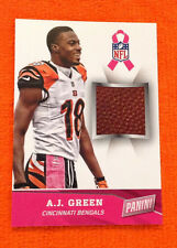2014 Panini Black Friday A.J. GREEN BCA Ball Breast Cancer Awareness Football