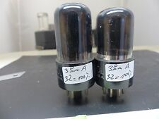 MATCHED PAIR jan-ctl-6k6gt TUNG-SOL vt-152 Black nos TESTE Tube Tube Valvola