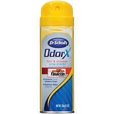 Dr Scholls Odor X Destroy Foot & Sneaker Deodorant Sport Spray 4.7oz Each