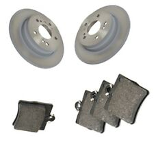 Brake Pads and Discs X2 Set Rear Solid For Mercedes-Benz SLK R171 300 1993-2002