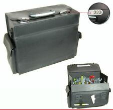 Suitcase Travel Mehrzweckkofer Service Tool Box Leather Case #24B