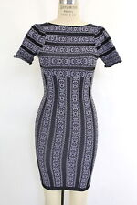 New Free People Intimately Womens Short Sleeve Printed Seamless Slip Dress $48