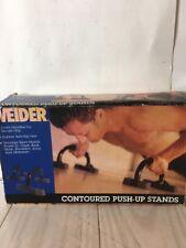 Vintage Weider Contoured Push-up Stands