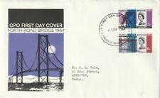 More details for 4 september 1964 forth road bridge phoshor gpo first day cover bureau fdi