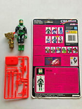 VINTAGE 1993 GI JOE STAR BRIGADE PAYLOAD 100% COMPLETE W/FULL CARD BACK FILECARD