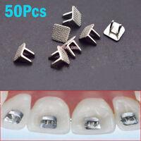 50pcs Orthodontic Dental Mini Bondable Lingual Spur Tongue Educator 50pcs