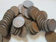 Roll of 1942 Canada Small Cents (50 Coins).