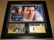 STAR TREK ORIGINAL, ADMIRAL J.T. KIRK, KHAN William Shatner Signed *# 2 * w/COA