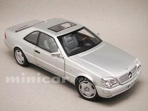 MERCEDES CL 600 1998, voiture miniature 1/18e NOREV 183446