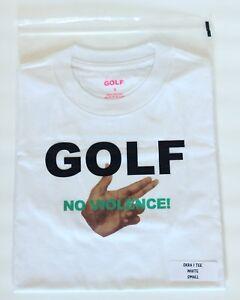 Golf Wang Tee «No Violence 1» Size Small (Supreme,FTP) Brand New Rare