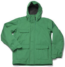 Bonfire ARC 10K/8K Mens Snowboard Ski Jacket Sprig Green Large NEW