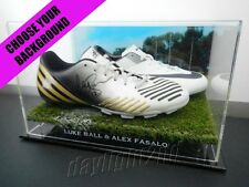 ✺Signed✺ LUKE BALL & ALEX FASALO Boots PROOF COA Collingwood Magpies Guernsey