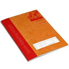 RHINO A4 Ledger Ruling Book-Keeping Book