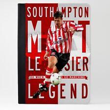 Le Tissier Southampton iPad Funda piel cubierta de la tableta de fútbol Legend Regalo LG55