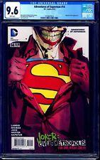 Adventures of Superman #14 CGC 9.6 JOCK JOKER COVER NM+