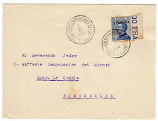 1.6.1908 Italy Levant 1 PIASTRA / FDC / Very Rare cover Constantinople Turkey