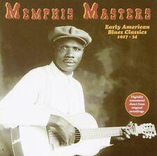 V/A - Memphis Masters - Early American Blues Classics - CD NEW Memphis Blues