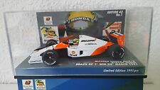 Minichamps 1:43 A. Senna McLaren mp4/6 JAPAN Serie nr 01 24.03.1991 lim.ed.1991pcs