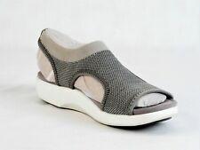 TRAQ By Alegria Womens Dream Knit Sport Sandals Qeen Grey US 8-8.5  EU38