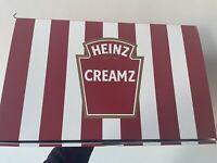 Heinz Creamz Ice Cream Gift Kit Mayo Mayonnaise Gold Spoons Set U.K. ONLY RARE
