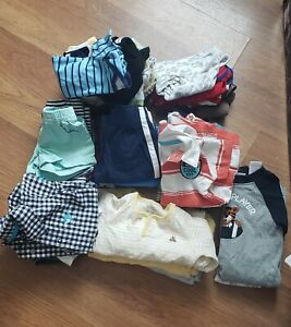 Baby Boys Size 0-3 Months Lot Of 41 Pieces