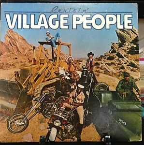 VILLAGE PEOPLE Cruisin' Album Released 1978 Vinyl/Record Collection US pressed