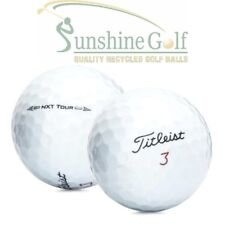 50 Near Mint Titleist NXT Tour AAAA Used Golf Balls - FREE SHIPPING