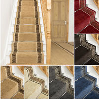 EXTRA LONG RED BROWN BLUE GREY CREAM BEIGE STAIR STAIRCASE RUNNER CARPET MAT