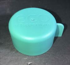 Z) TUPPERWARE ECO WATER BOTTLE 1 LITRE LID SPARE PART REPLACEMENT GREEN