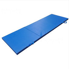 Gymnastics Tri Folding Floor Mat Indoor Martial Arts Training Equipment Foam Pad