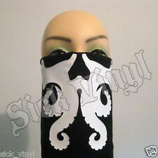 Mark of Cthulhu Bandana Face Mask Dust Mask Matte White