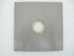 5x7 B&J type lens board,drilled for Copal #0 or #1