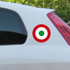 2 Stück 11cm Target Mod Symbole rot weiß grün Aufkleber Tattoo Deko Folie ORACAL